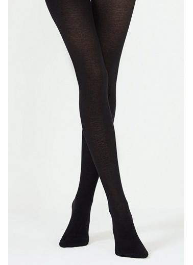 Penti Kadın Siyah Ekstra Koton  Külotlu Çorap PCPP224K15SK Siyah